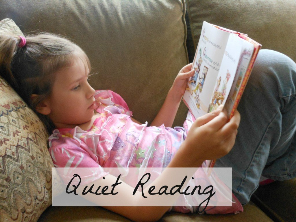 summer reading kick off :: Join me in making quiet reading a priority this summer.