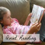 Join me in making quiet reading a priority this summer.