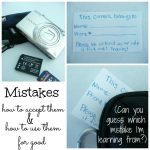 Making the Most of Making Mistakes