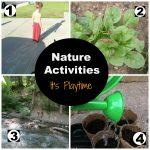 It's Playtime… Nature Activities