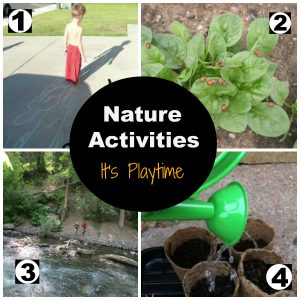 It's Playtime… Nature Activities