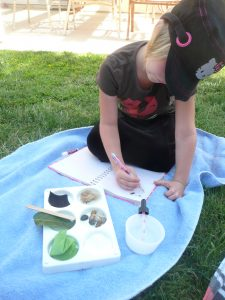 Science for Kids playing with Absorbent Materials