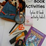 create your own Book Activities it's easy!