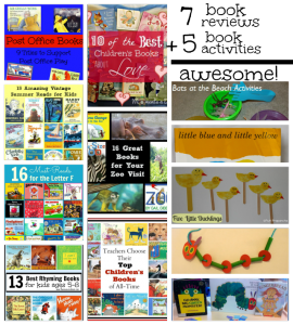 It's Playtime – 7 Book Reviews and 5 Book Activities