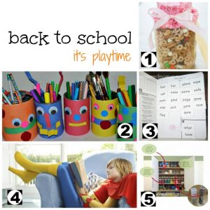 It's Playtime – Back to School