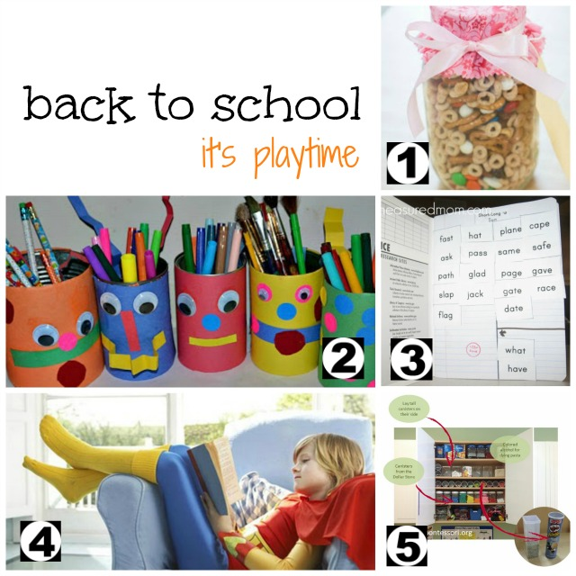 Back to School on It's Playtime