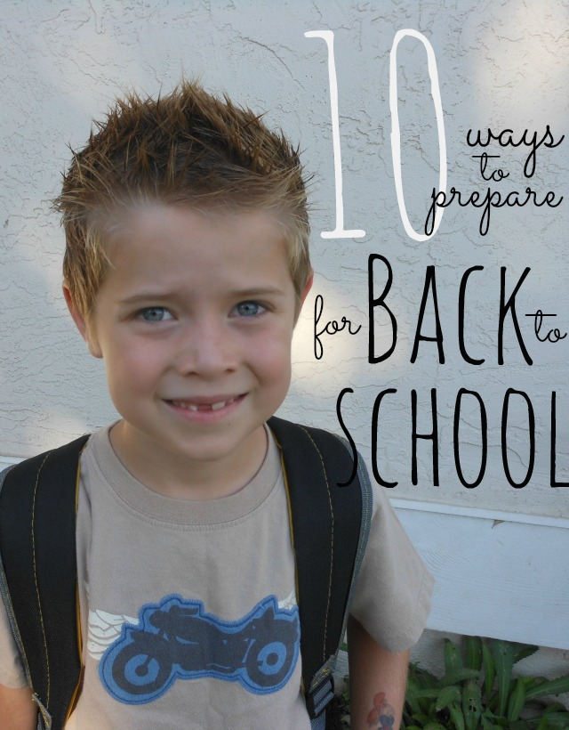 how to get ready quickly for school