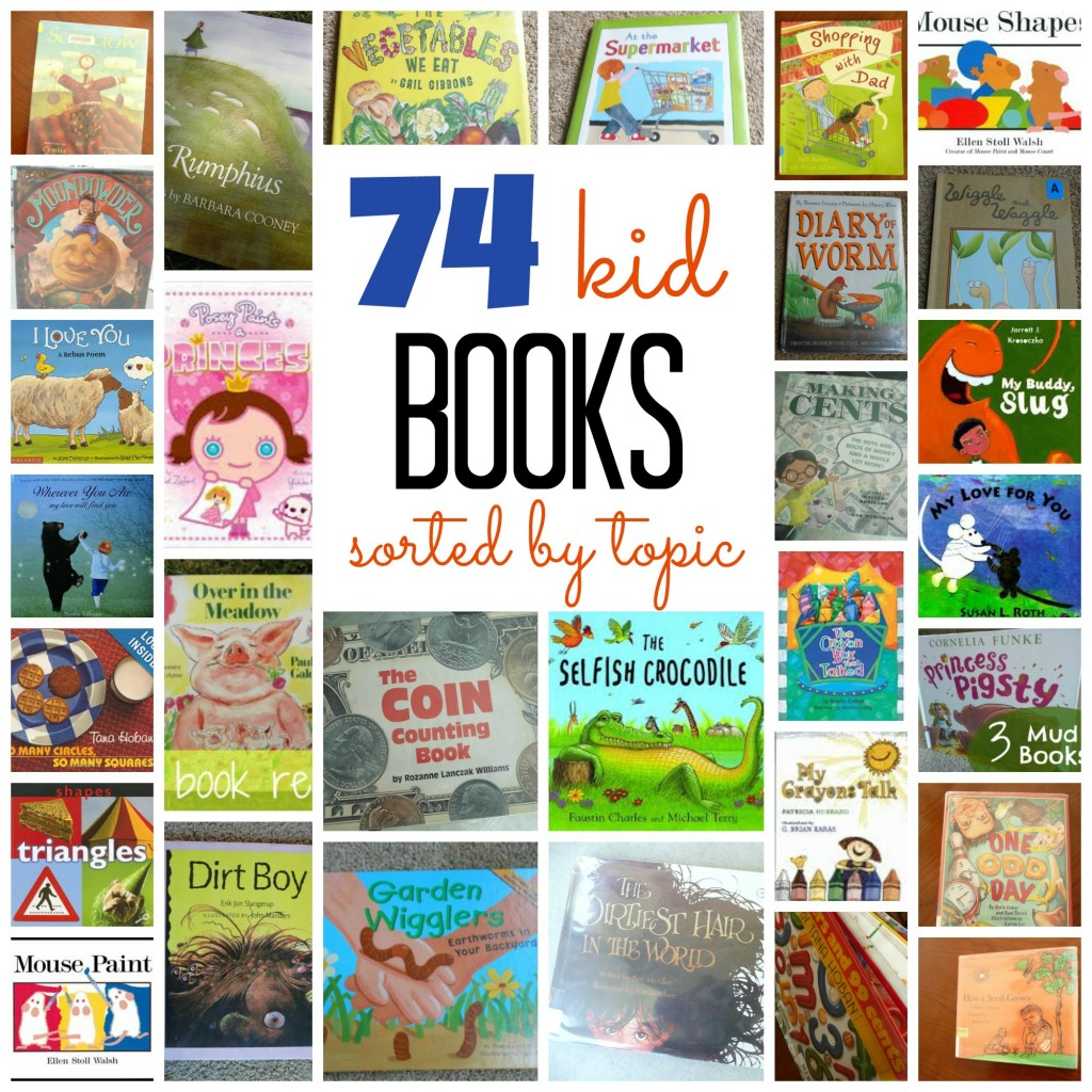 Huge list of books for kids!!! Even sorted nice, neat and easy to read.