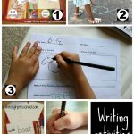 Writing Activities on It's Playtime