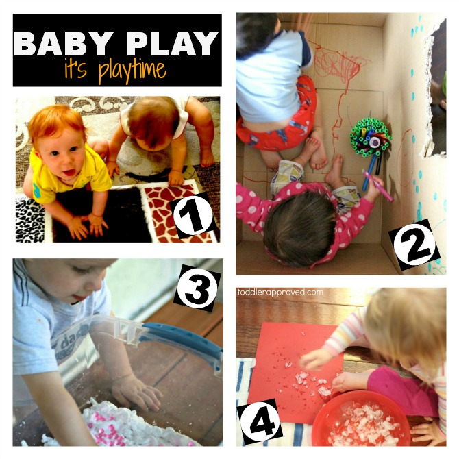 Baby Play on It's Playtime (plus lots of other playful learning posts)