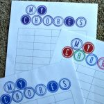 Kids and Chores – Sticker Chore Chart
