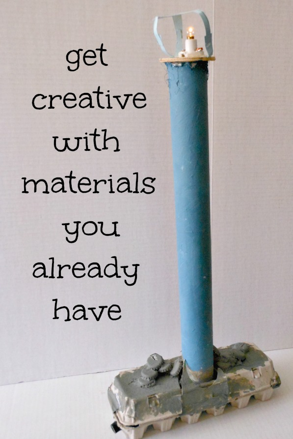12 ways to be creative with materials you already have