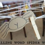Spelling Words Activity: Spiderweb search