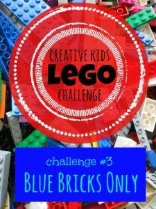 CKLC #3: Blue Lego Bricks Only