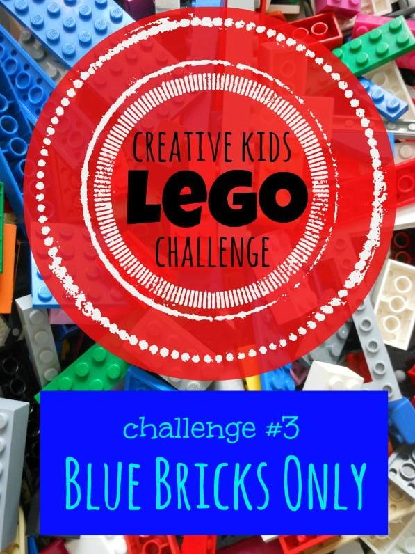 Creative Kids Lego Challenge -- a new challenge everyweek