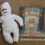 Halloween Book Activity – Mummy Babies