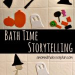 Bath Time Storytelling – Halloween style