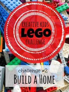 Creative Kid Lego Challenge #2: Build a Lego Home