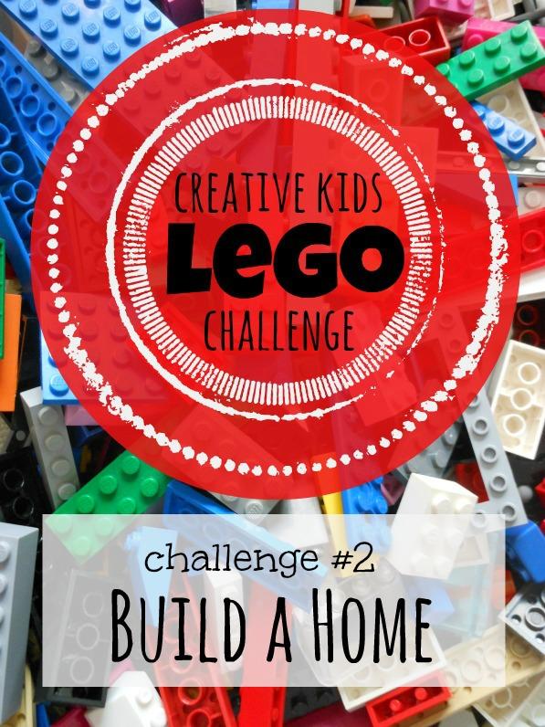 Creative Kids Lego Challenge - Build a Lego Home