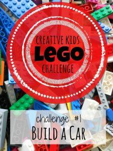Creative Kid Lego Challenge #1: Build a Lego Car
