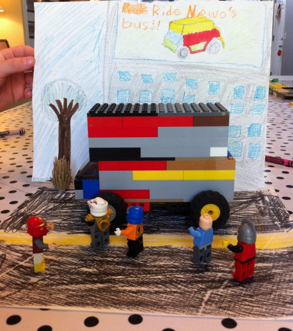 Creative Kids Lego Challenge - A Mom with a Lesson Plan
