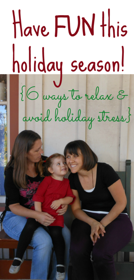 Enjoy the Hoidays| Holiday Stress Relief Tips |Confidence Meets Parenting