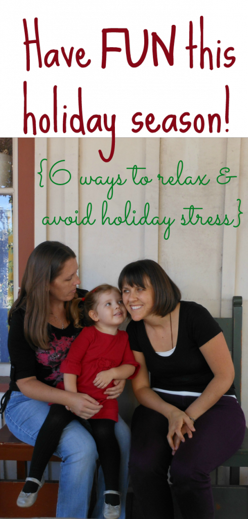 Holiday stress sneaks up and takes over... not this year!