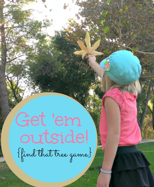 outside fall activity I can do right now!