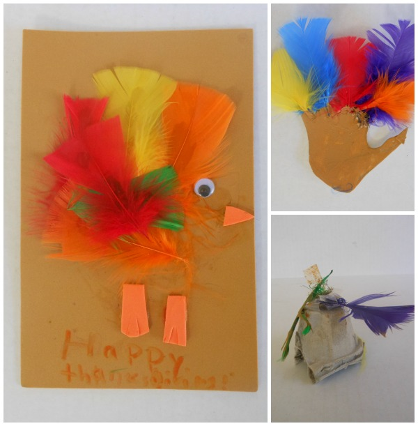Thanksgiving art for creative kids.
