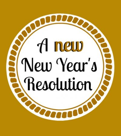 A New Year's Resolution Idea That Will Make You Feel Better About Yourself