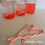 Easy Christmas Science Experiment with Candy Canes