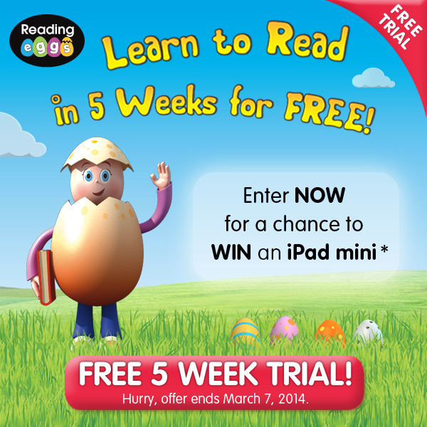 Free 5 week trial! Sign up now!