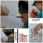 Fun with Senses {Comparing Yogurts using Sight, Taste, Smell and Touch}