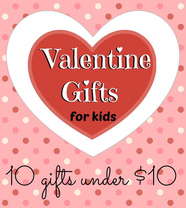 Great list of Valentine gift ideas for kids! Love that there is no candy on the list!