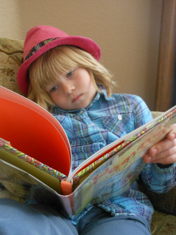 getting kids to read... and like it!