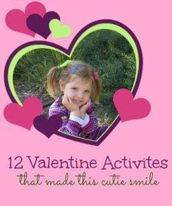 Preschool Valentine Ideas: Valentine Games, Art and Cooking