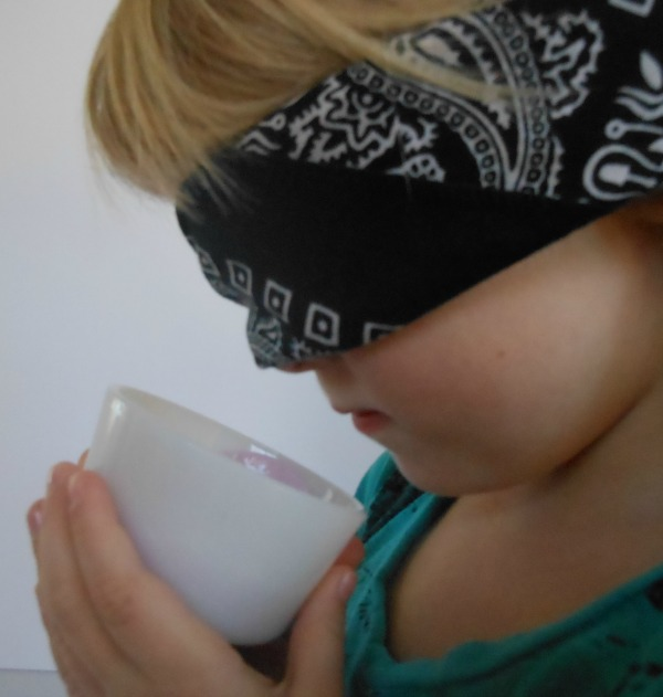 yoplait greek taste-off - love the senses activity they used!