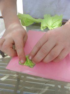 Tissue Paper Valentine Cards {Two Ways}