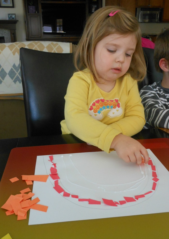great rainbow craft for kids