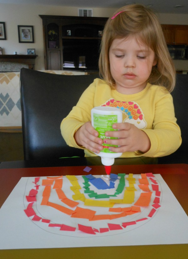 great rainbow craft for toddlers (2)