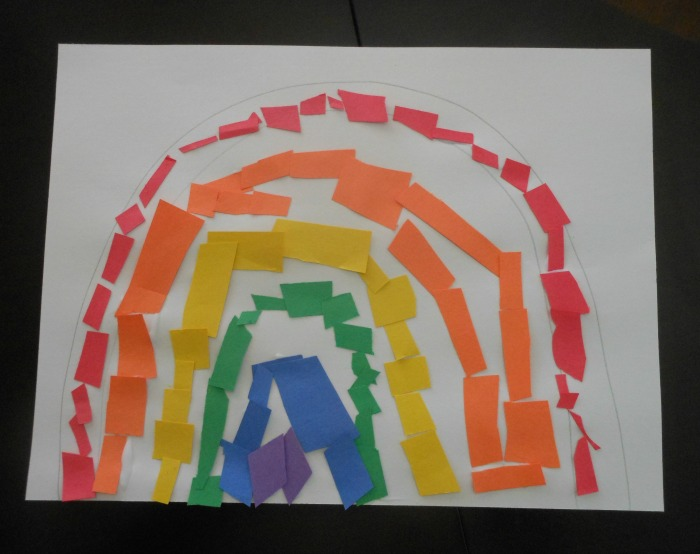 great rainbow craft for toddlers (3)