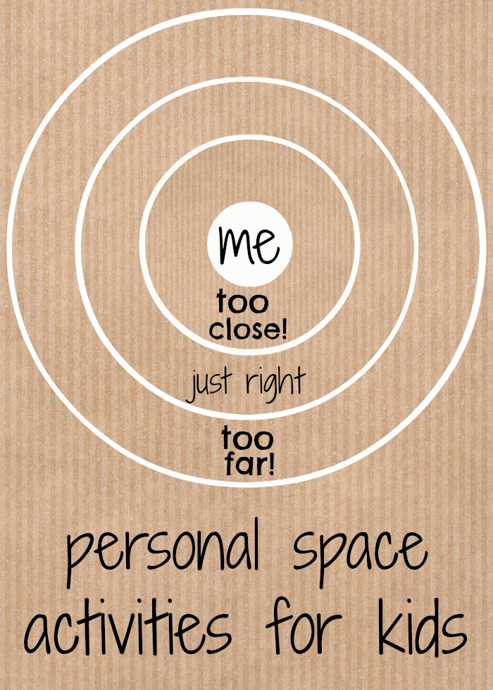 Personal space is an important (but tricky) topic to cover. We tackle it the best way we know how! With personal space activities for kids. YAY!