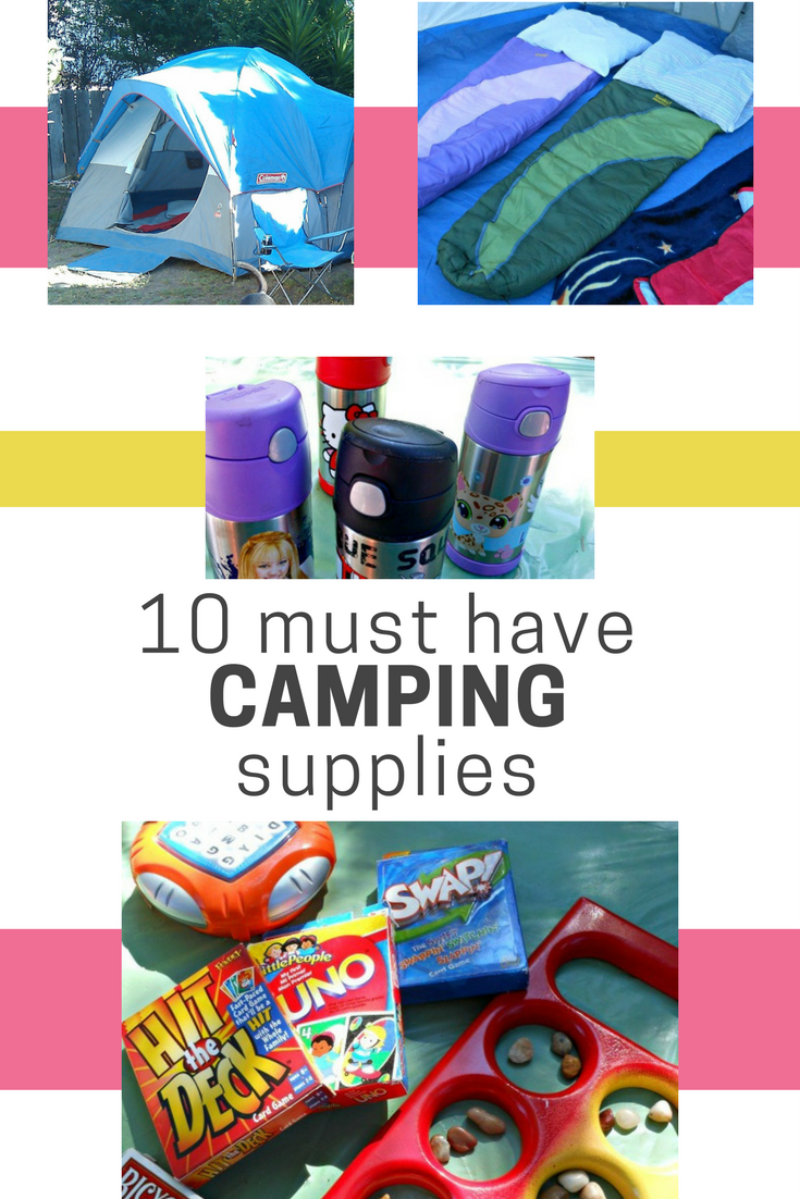 Must Have Makeup Brushes: 10 Must Have Camping Supplies