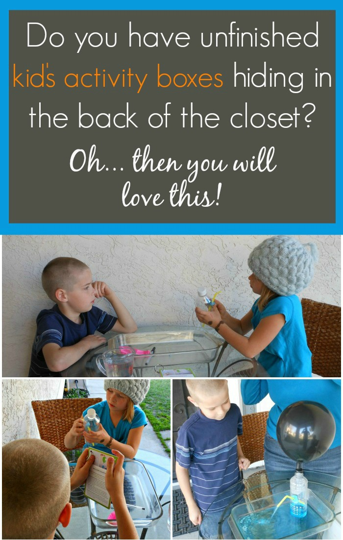 6 ways to make sure that kids activity boxes actually get used! -