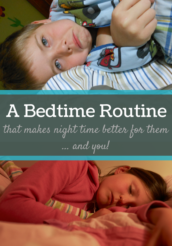 a better bedtime routine -- great post for getting kids to go to bed and TONS of info in comments