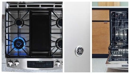 GE Appliances gas Double Range Oven