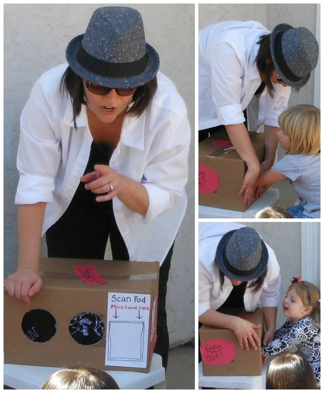 Spy Party Feely Box Game