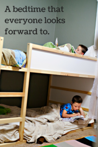 a better bedtime routine – getting kids to go to bed