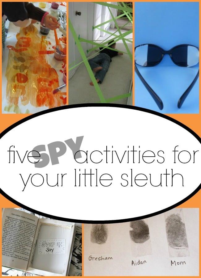 Spy Summer Camp Craft Ideas