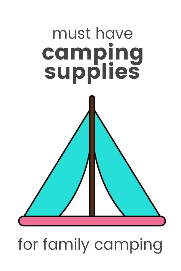 camping, camping supplies, camping supply list, family, must have camping supplies, campers #campinggear #familycamping